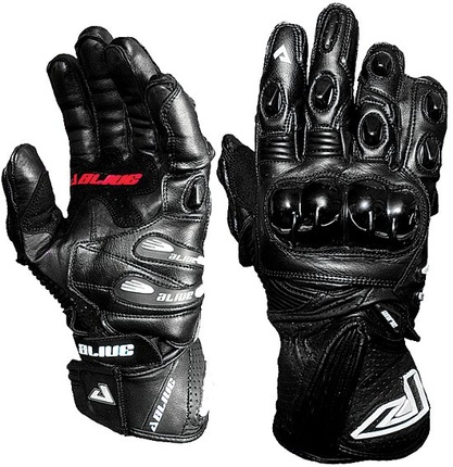 Motorbike Alive Racing Gloves (BLACK)