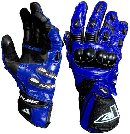 Motorbike Alive Racing Gloves (BLUE)
