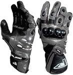 Motorbike Alive Racing Gloves (GREY)