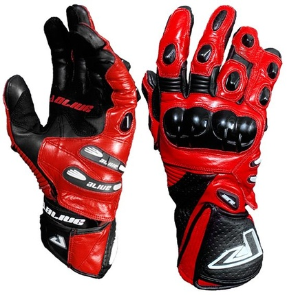 Motorbike Alive Racing Gloves (RED)