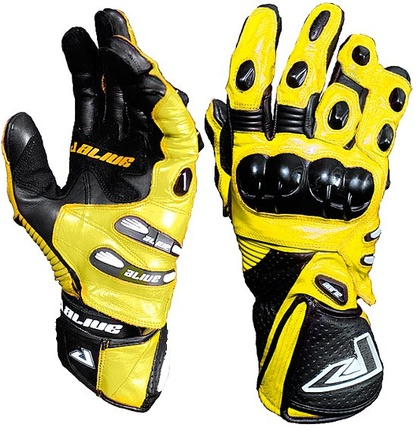 Motorbike Alive Racing Gloves (YELLOW)