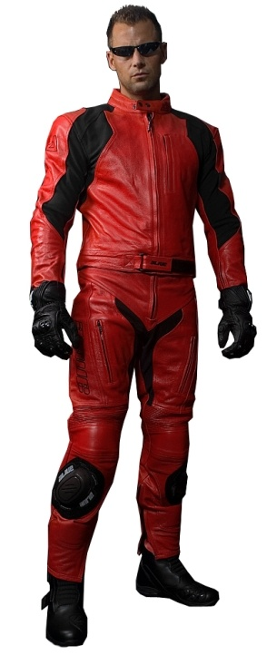 Red Rider Suit Leather Two Pieces