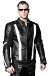Stripe MX Leather Jacket