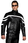 Titan Black Leather Jacket